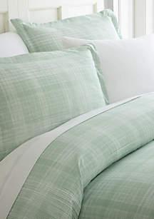 Luxury Inn Premium Ultra Soft Thatch Pattern 3 Piece Duvet Cover Set