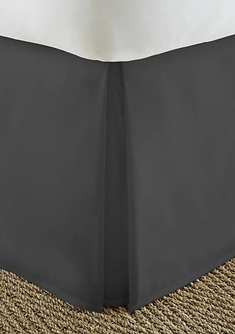 Premium Pleated Dust Ruffle Bed Skirt