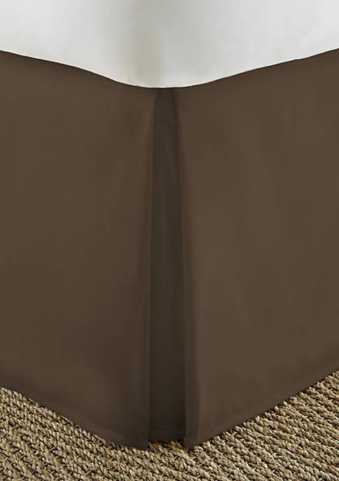 Luxury Inn Premium Pleated Dust Ruffle Bed Skirt