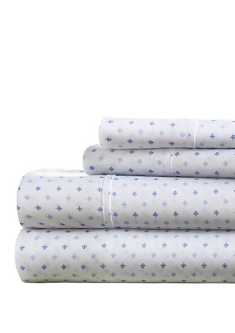 Luxury Inn Premium Ultra Soft Lily Pattern Bed