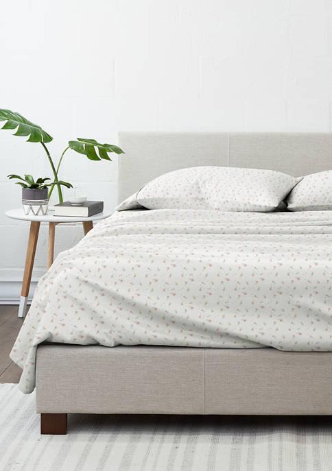 Luxury Inn Premium Ultra Soft Floral Pattern Bed
