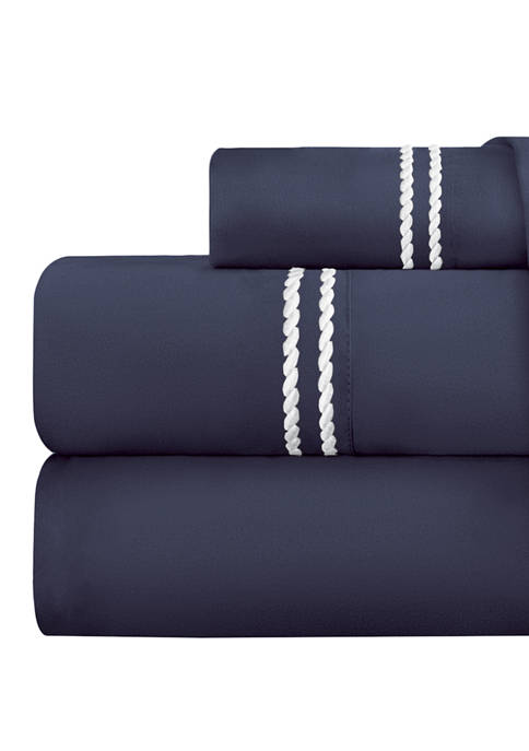 Luxury Inn Italian Luxury 4 Piece Sheet Set