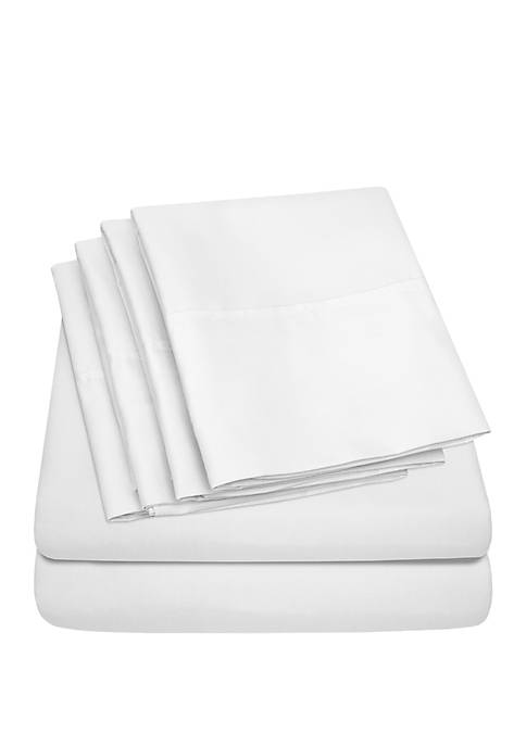 Sweet Home Collection 1500 Thread Count 6 Piece