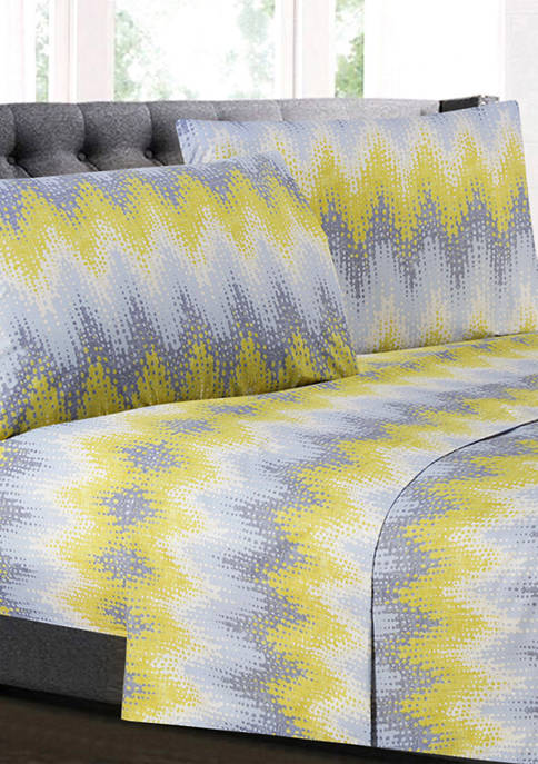 Sweet Home Collection Malibu Chevron Pattern 1500 Supreme