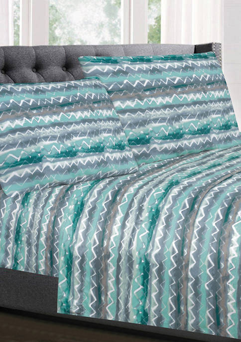 Sweet Home Collection Summerset Zig Zag Pattern 1500