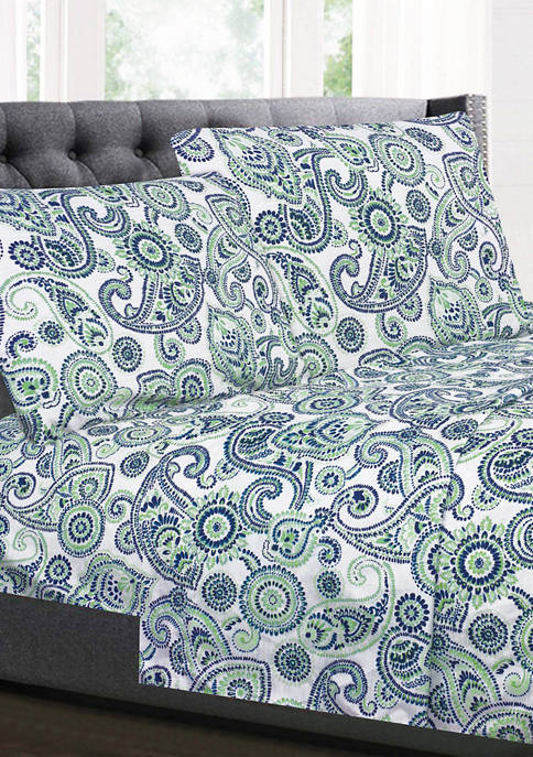 Sweet Home Collection Modern Paisley Pattern 1500 Supreme