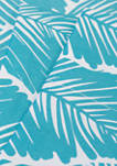 Tropical Leaf Pattern 1500 Supreme Collection Sheet Set