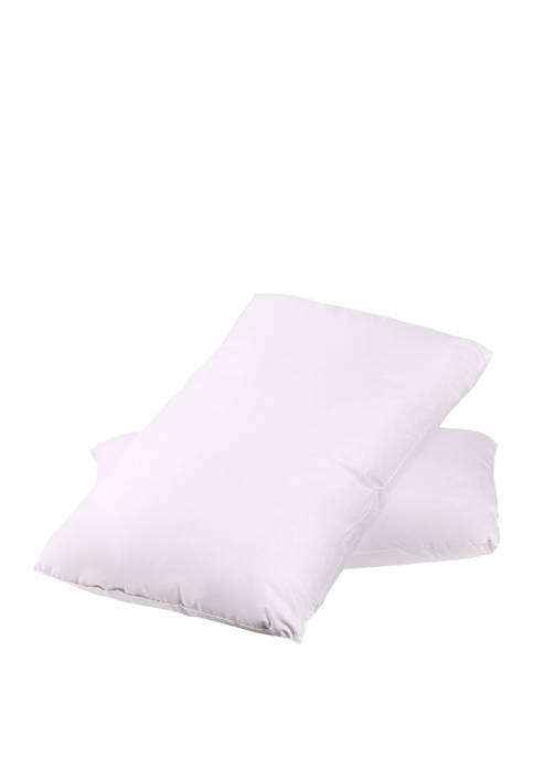 Feather & Down Blend Bed Pillows All Cotton Cover 2 Pack