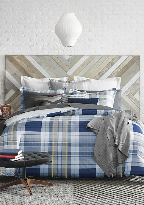 Poquonock Plaid Comforter Set