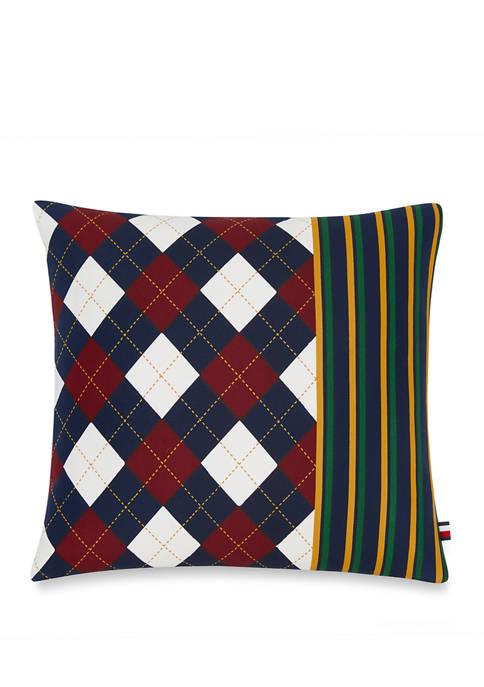 Argyle Stripe Pillow