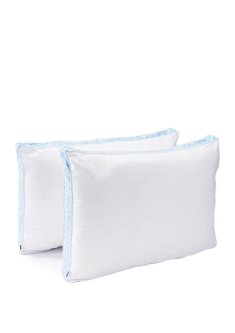Set of 2 Tommy Dot Gusseted Pillows