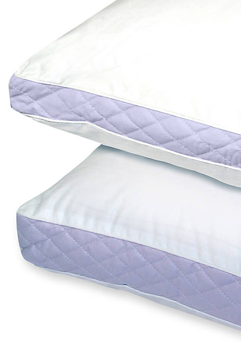 Quilted Sidewall Density Queen Pillow 20-in. x 30-in.