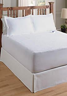 Serta® Sherpa Plush Heated Mattress Pad