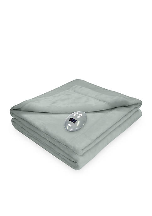 Perfect Fit Soft Heat Velvet Plush Warming Blanket