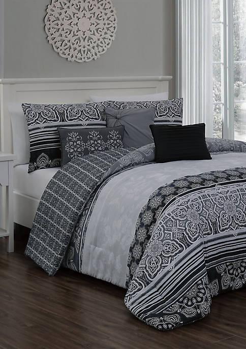 Ellisa 7 Piece Comforter Set