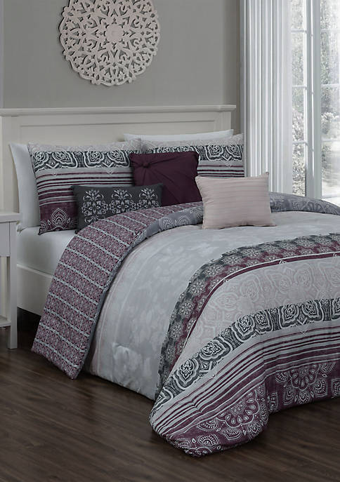 Addison Home Ellisa 7 Piece Comforter Set