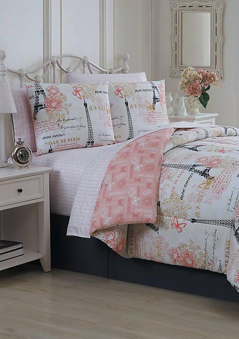 Blush Amour 8 Piece Comforter Set