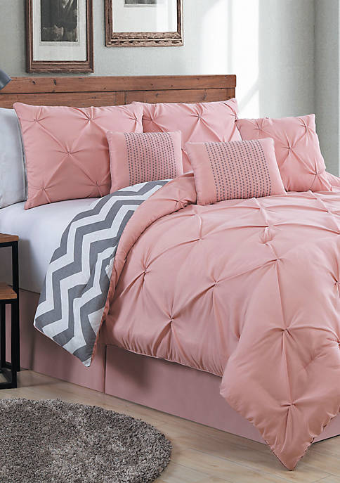Avondale Manor Ella Pintuck Comforter Set