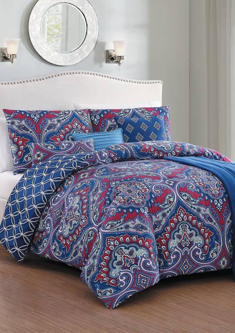 Addison Home 7 Piece Cantara Comforter Set