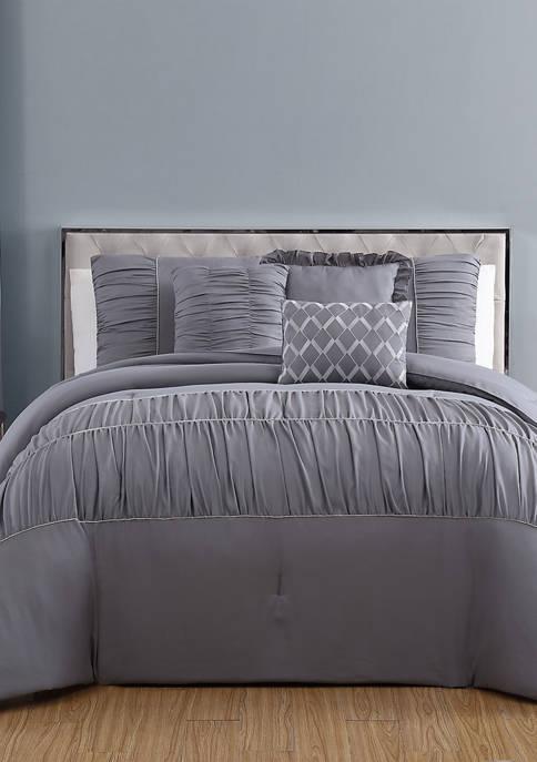 Addison Home Reina Rhinestone Comforter Set