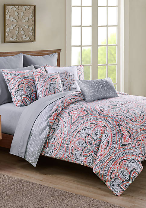 Janerisa 12 Piece Bed In A Bag Comforter Set