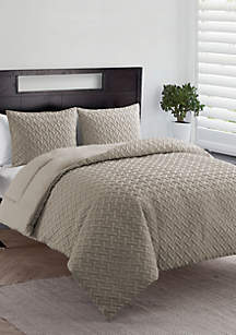 VCNY Home Nina II Embossed Comforter Set