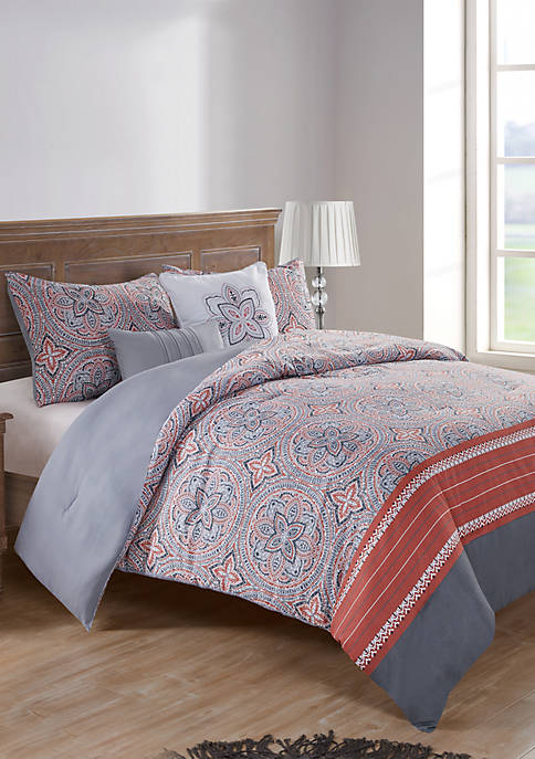 Thalia 5 Piece Comforter Set