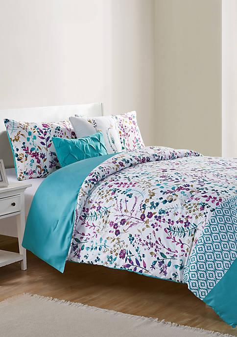 Timeless 5 Piece Comforter Set