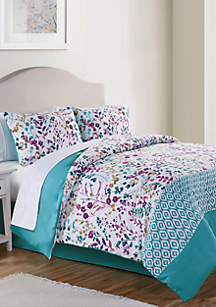 VCNY Home Timeless Bed in a Bag Comforter Set