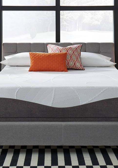 Legend 10 Inch Customized Your Comfort Plush Gel Memory Foam Mattress Set