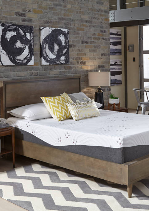 10 Inch Choose Your Comfort Firm Gel Memory Foam Mattress