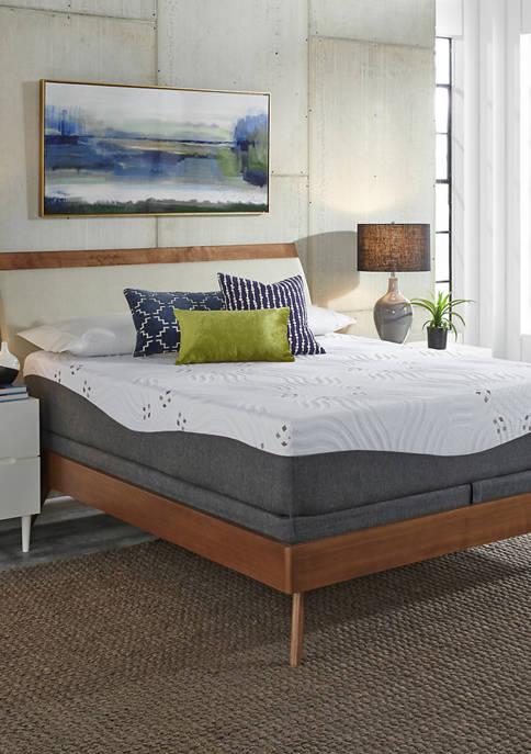 12 Inch Choose Your Comfort Medium Gel Memory Foam Mattress Set