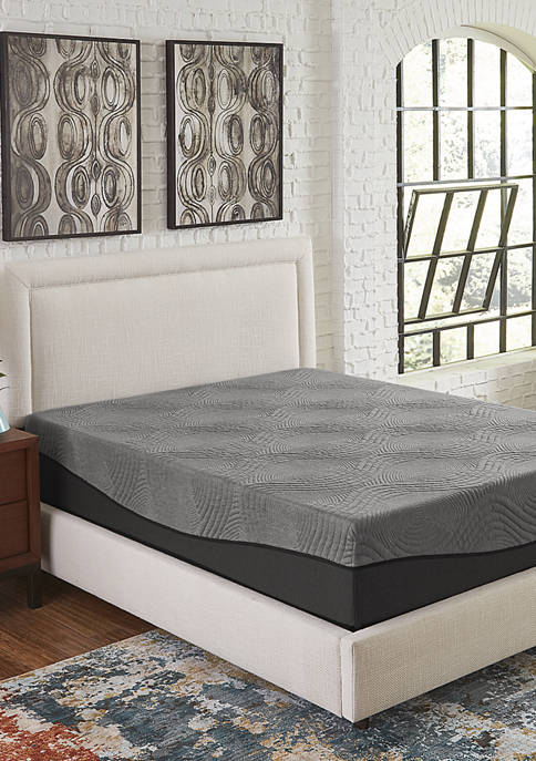 Ebony 10 Inch Ebonite Memory Foam Mattress