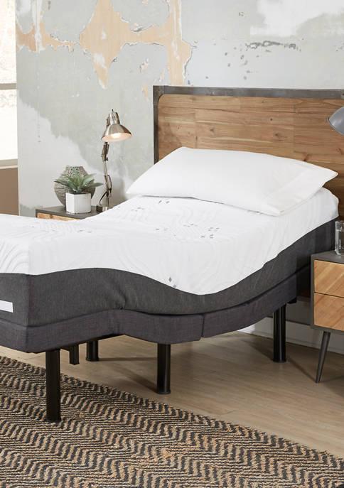 12 Inch Choose Your Comfort Firm Gel Memory Foam Adjustable Mattress Set
