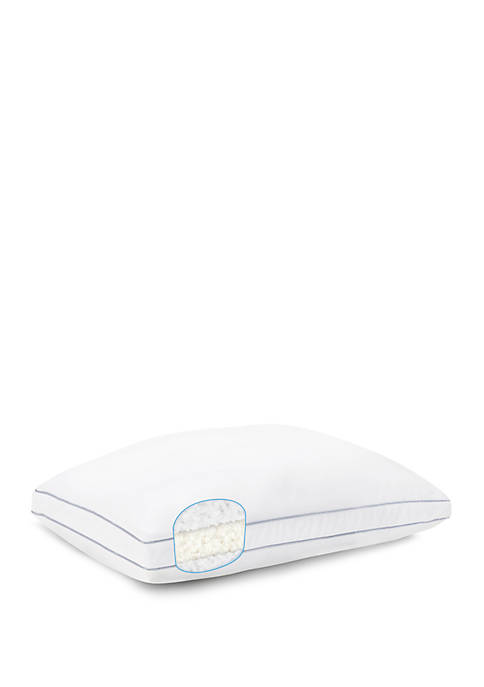 Peachy Foam and Fiber Filled Pillow - Twin Pack