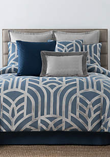 Laundry by Shelli Segal Mayfair Geometric Jacquard Comforter Set