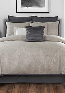 Laundry by Shelli Segal Crawford Textured Jacquard Comforter Set