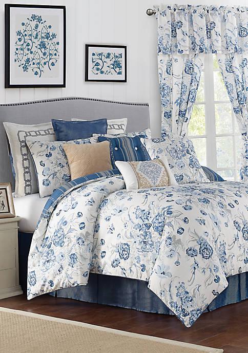 Rose Tree Ardenelle Floral Comforter Set