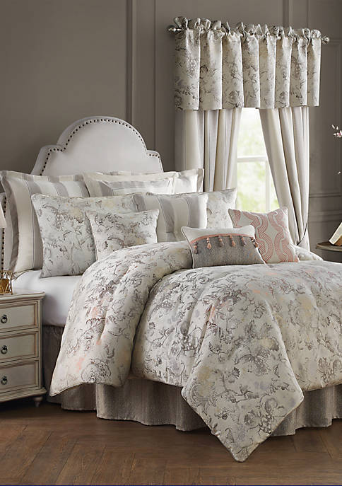 Sienna  Floral Jacobean Comforter Set