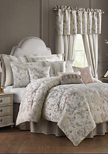 Rose Tree Sienna  Floral Jacobean Comforter Set