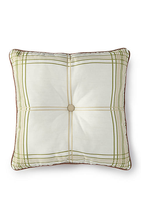 Lorraine Plaid Throw Pillow