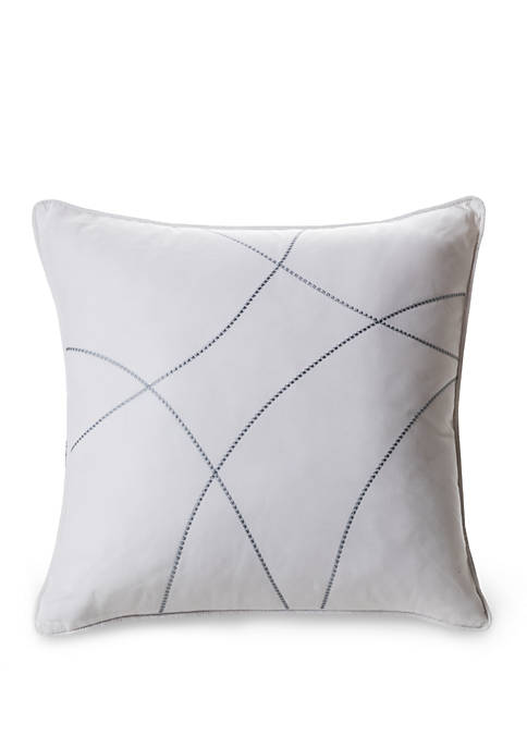 Laundry by Shelli Segal Crestmont Embroidered Throw Pillow