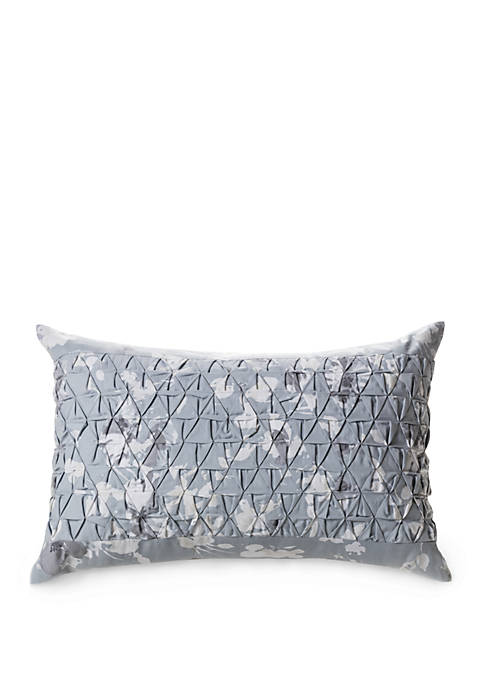 Laundry by Shelli Segal Crestmont Pleated Throw Pillow