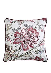 Rose Tree Izabelle Jacobean Throw Pillow