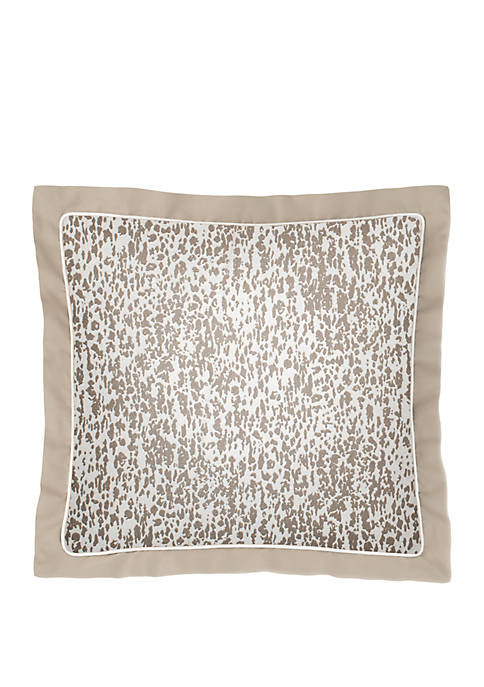 Laundry by Shelli Segal Sonora Leopard Woven Throw