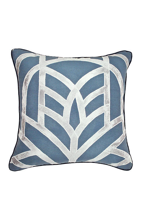 Laundry by Shelli Segal Mayfair Geometric Jacquard Throw