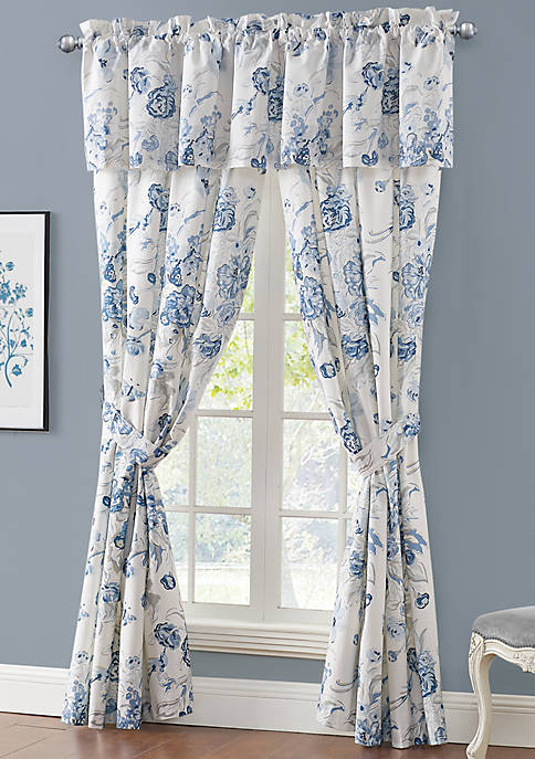 Rose Tree Ardenelle Floral Valance