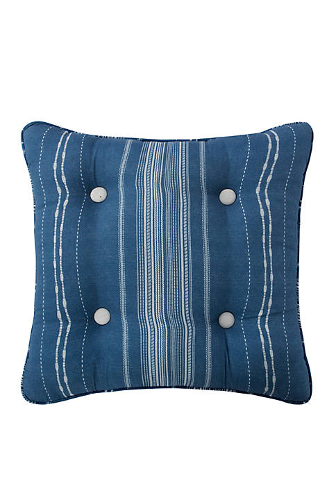 Rose Tree Ardenelle Striped Throw Pillow