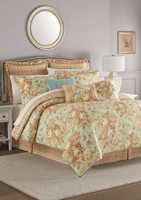 Spring Bling 4 Piece Comforter Set