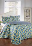 Shi Shi 3 Piece Bedspread Set